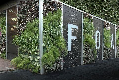 Casa foa y los jardines verticales for Historia de los jardines verticales